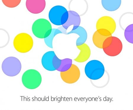 Apple iPhone 5S event date and time by invitation