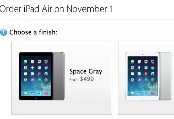 Apple Store craze begins for iPad Air, but no gold