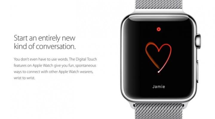Apple Watch emoji options list plus drawing