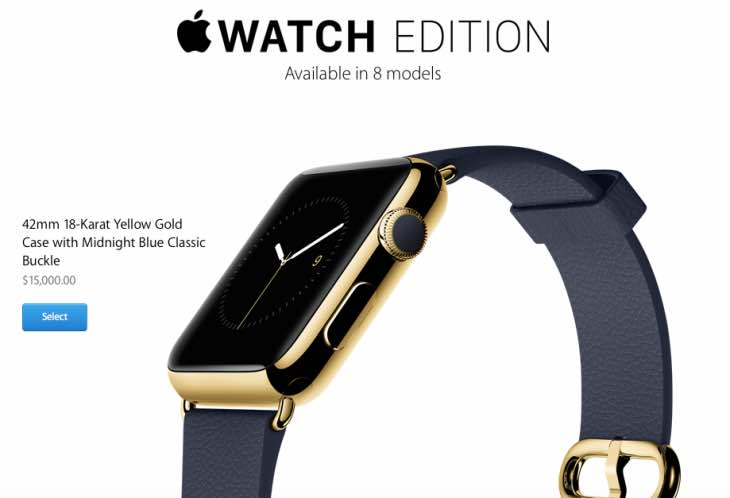 Apple Watch Edition high price in US, UK debated