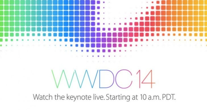 Apple WWDC live stream keynote 2014 reminder