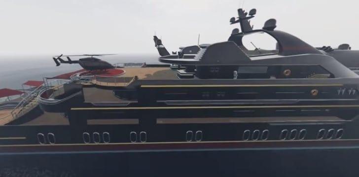 GTA 5 Online Aquarius Vs Pisces Yacht for value