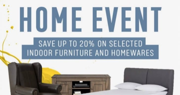 Argos Home Event with 20% Off Code