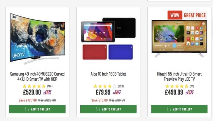 Argos Half Price January 2018 sale for 4K TVs, laptops ...