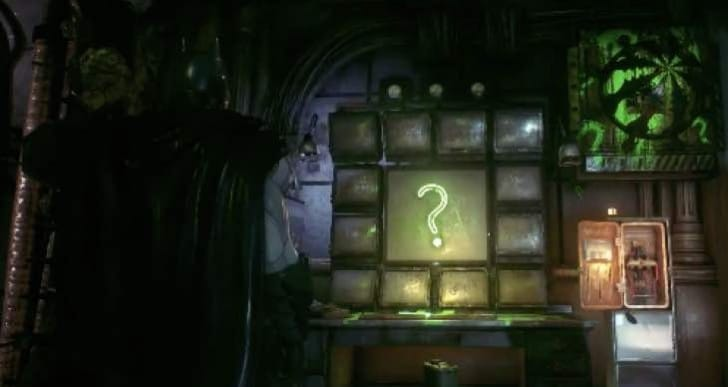 All Arkham Knight Riddler Trophies, Riddles locations