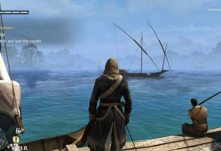 Assassin's Creed 4 better on PS4 with 1080p native