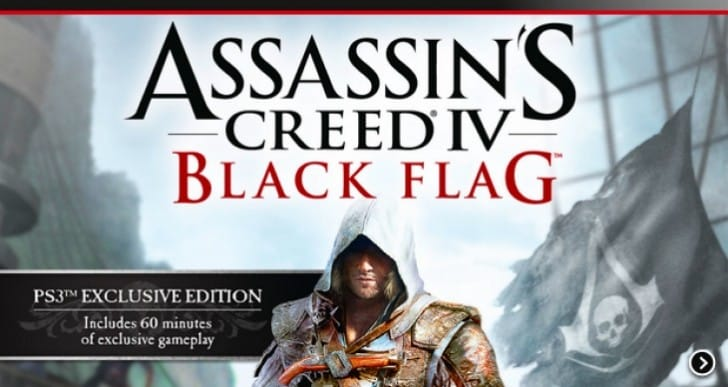 Assassin's Creed 4 has exclusive gameplay on PS4, PS3
