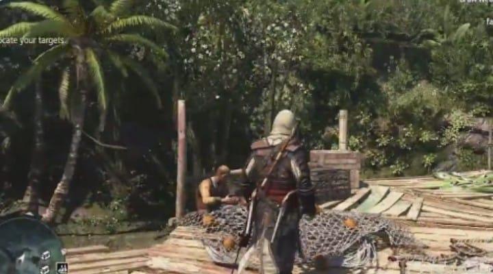 Assassin's Creed 4 open world gameplay walkthrough