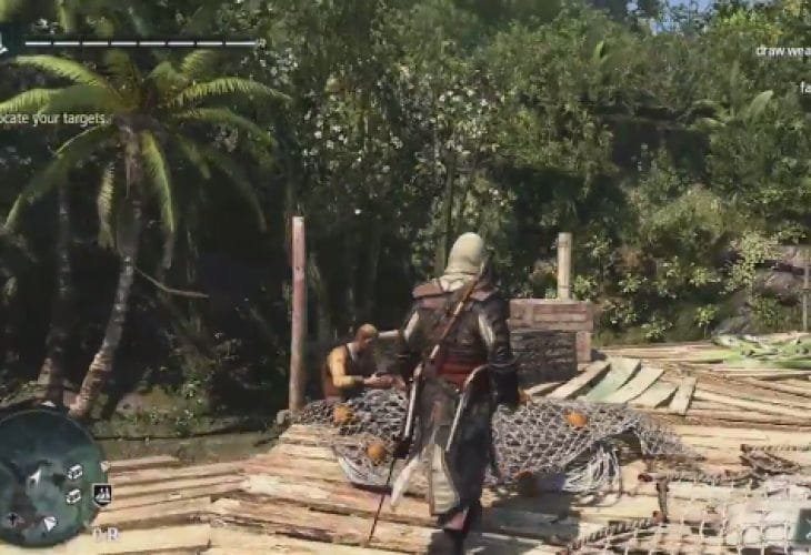 Assassin's Creed 4 open world gameplay walkthrough