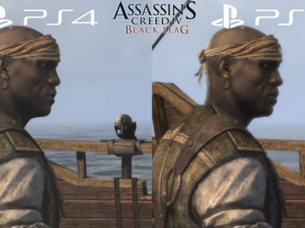Assassin S Creed 4 Ps4 Vs Ps3 Graphics May Shock You Product