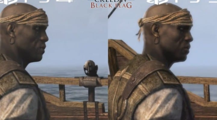 Assassin's Creed 4 PS4 Vs PS3 graphics may shock you