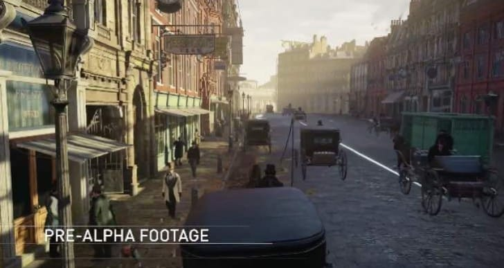 Early Assassin's Creed Syndicate gameplay in real-time
