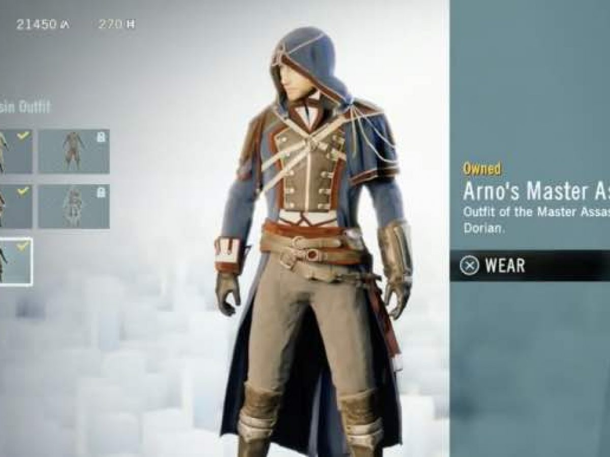 Assassin S Creed Unity Initiate Rank Fix For Arno Costumes