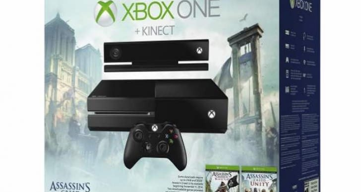 Best Buy Vs Walmart for Xbox One Assassin's Creed bundle