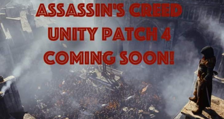 Assassin's Creed Unity 1.04, 1.40 Patch 4 coming for PS4, PC