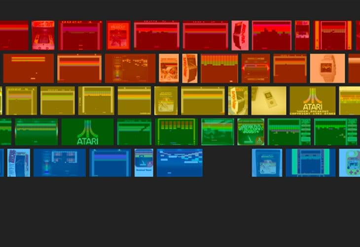Google Images Atari Breakout high score challenge