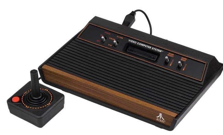 The original 1977 Atari 2600