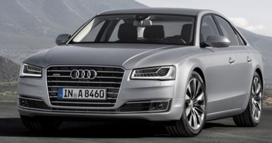 The popular Audi A8 is also one of the affected models