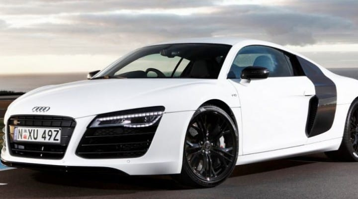 Audi R8 with NCAP over safety ratings