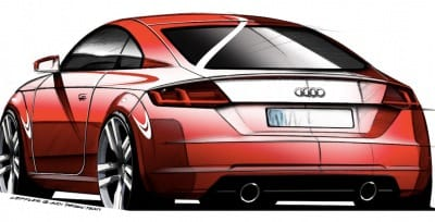 Official design for the new Audi TT 3rd gen