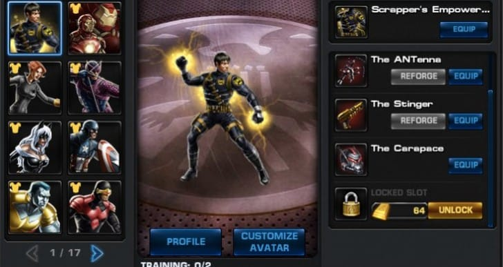 Marvel Avengers Alliance update notes for August 28