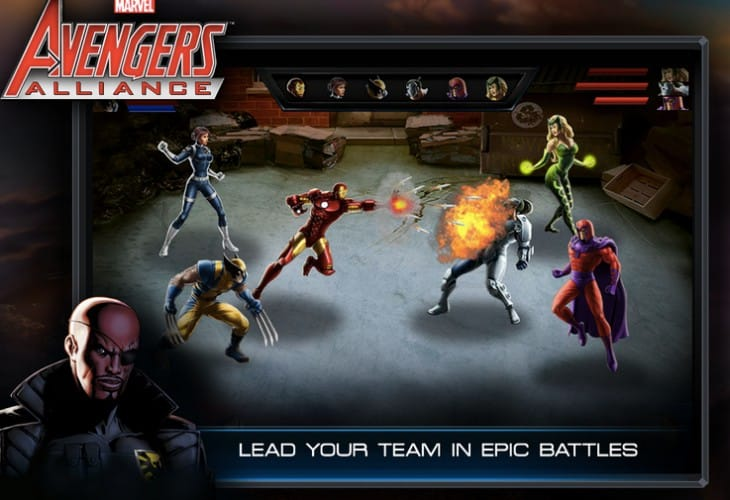 Avengers Alliance Android app without Facebook sync