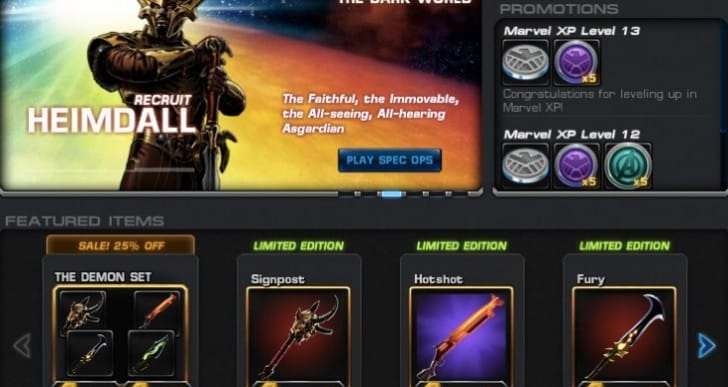 Avengers Alliance Elite Agents for monthly fee debatable