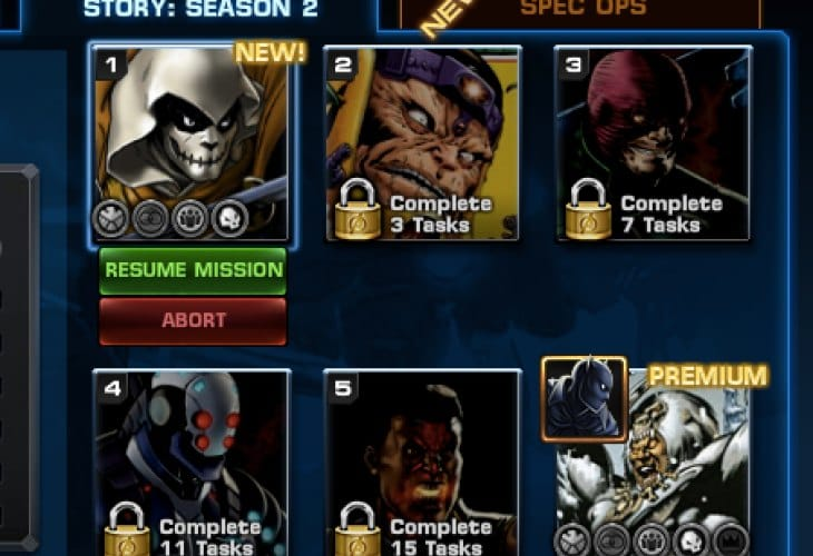 avengers-alliance-season-2-chapter-4-task-list