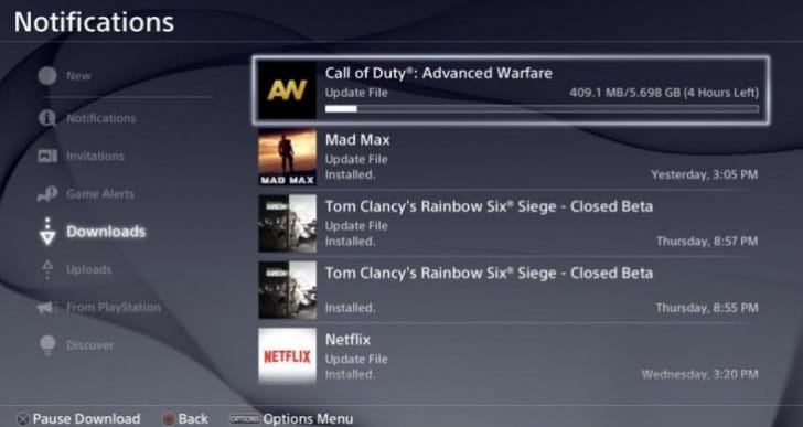 Advanced Warfare 1.21 update notes for PS4, Xbox One
