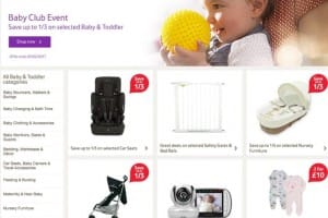 Tesco Baby and Toddler Event for 2017 is now Live