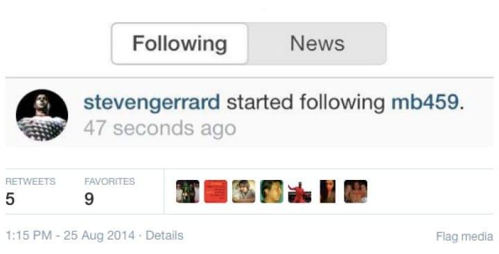 Mario Balotelli Instagram erupts after Gerrard support