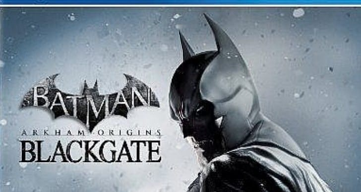PS Vita Batman Arkham Origins Blackgate box art outed