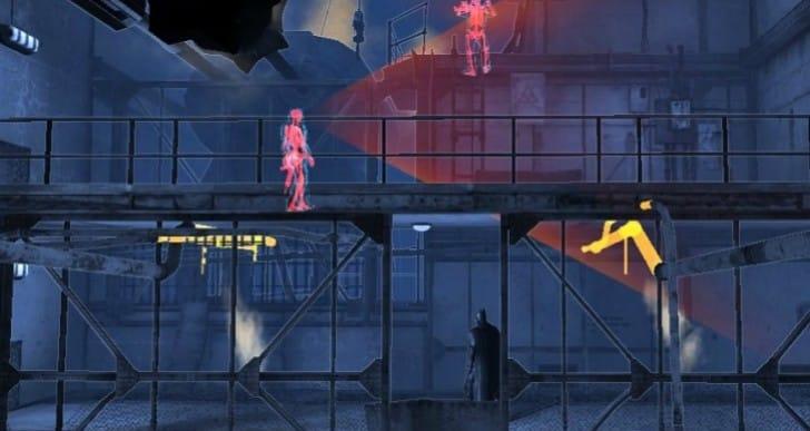 Batman Arkham Origins Blackgate war on PS Vita, 3DS