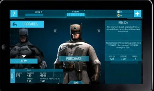 Plenty of different suits to unlock.