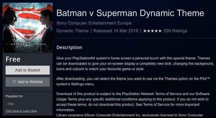 batman-vs-superman-ps4-theme-free