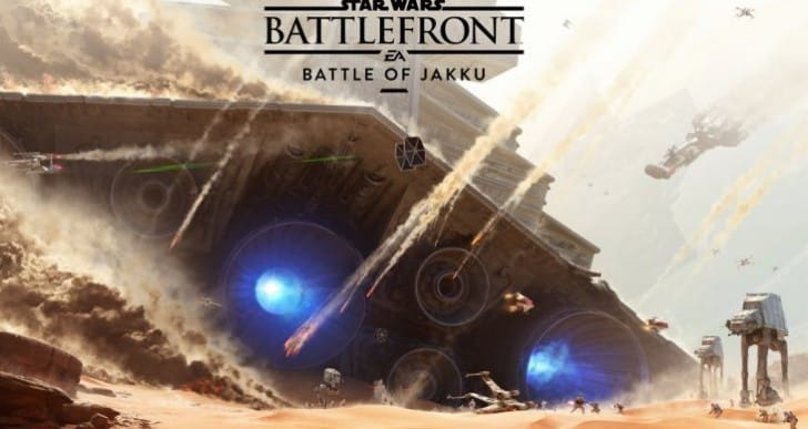 Star Wars Battlefront Battle of Jakku 10 mins of gameplay