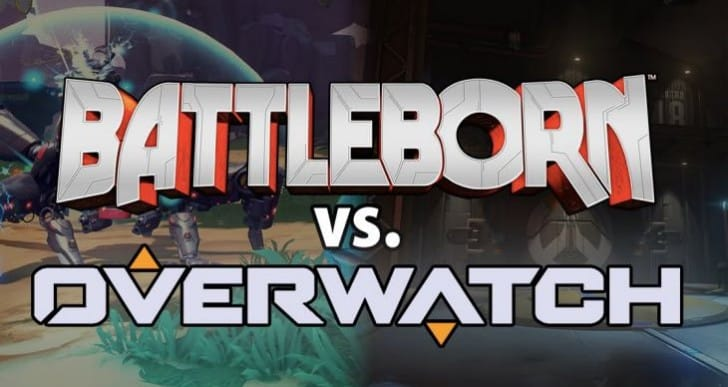 Battleborn Vs Overwatch after massive price cut
