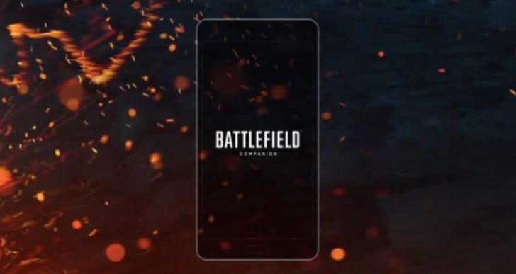 Battlefield 1 Companion app download for iOS, Android