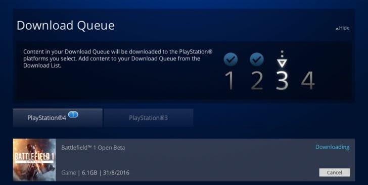 Battlefield 1 open beta end date