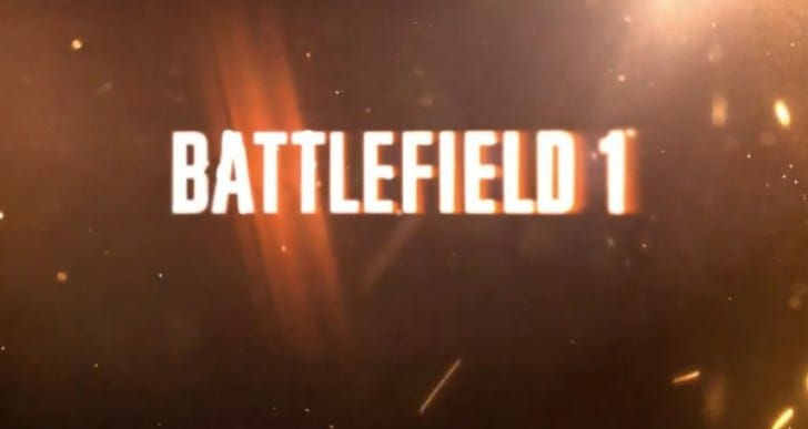 Battlefield 1 trailer with Xbox One DLC exclusivity