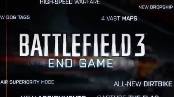Battlefield 3 End Game gameplay shows new maps