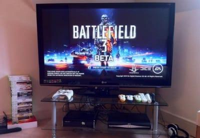 Ps3 gaming setup room