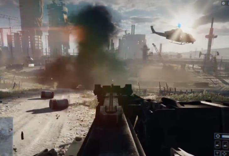 Battlefield 4 gameplay spawns next gen debate