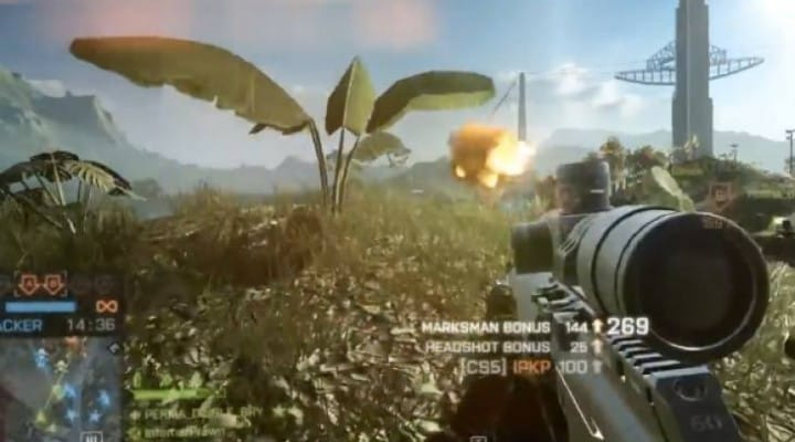 BF4 Dragon's Teeth CS5 Sniper analysis
