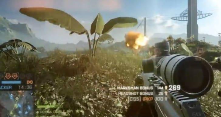 BF4 Dragon's Teeth CS5 Sniper analysis