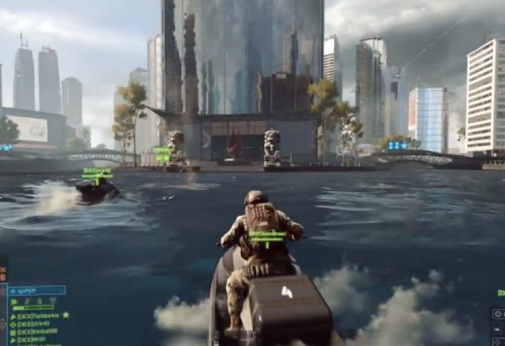 Epic Battlefield 4 E3 gameplay silences critics