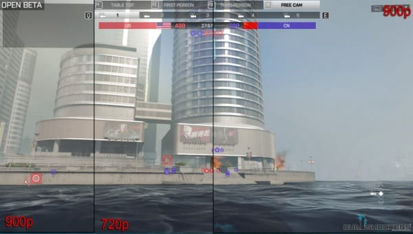 Can you spot the difference  with Battlefield 4 in 900p?