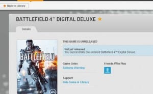 Battlefield 4 PC pre-load release time with Origin fears