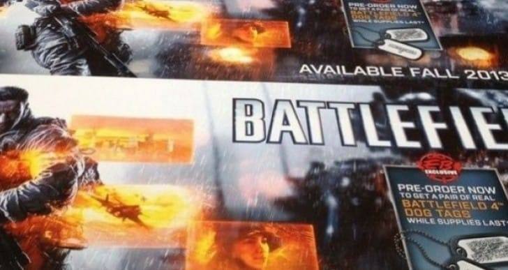 Battlefield 4 2013 release date rumors with pre-order