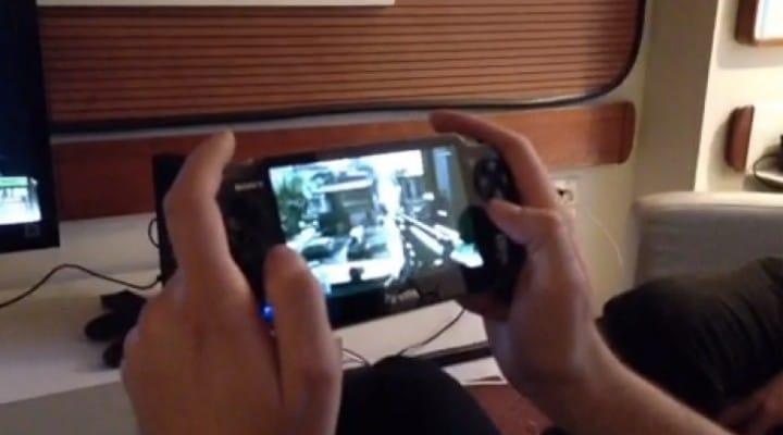 Battlefield 4 PS Vita Remote Play is amazing